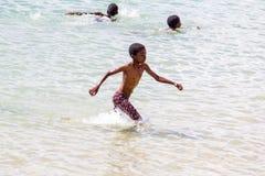 Przy plażą Fotografia Stock