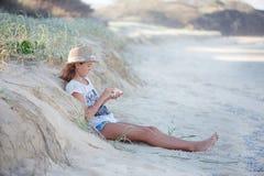 Przy plażą Obraz Royalty Free