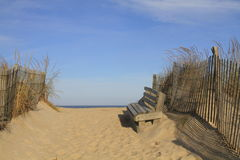 Przy plażą Zdjęcie Royalty Free