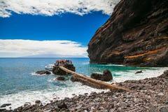 Przy Playa De Masca Obrazy Stock