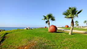 Przy południem na plaży Zdjęcie Royalty Free