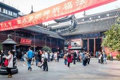 Przy 600 roczniaka miasta boga Star? ?wi?tyni?, Szanghaj, Chiny fotografia stock
