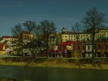 Przy rzeką Obraz Stock