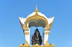 Przy Sanam Pałac Ganesh pomnik Chandra, Tajlandia Fotografia Stock