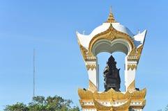Przy Sanam Pałac Ganesh pomnik Chandra, Tajlandia Zdjęcie Stock