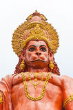 Przy Sikkim Hanuman statua, India fotografia stock