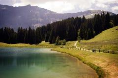 Przy stopą Alps zdjęcie stock