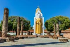 Przy Wat muang Buddha duży statua, Tajlandia Zdjęcie Stock