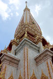 Przy Wat Uroczysta Pagoda Chalong fotografia royalty free