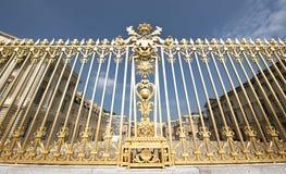 Przy wejściem Versailles Obrazy Stock