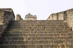 Przy Wielkim Murem oddolny Szeroki Schody fotografia royalty free