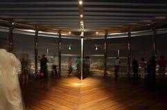 Przy Wierzchołkiem, Burj Khalifa Dubaj Zdjęcia Royalty Free