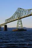 Przy Wschód słońca Astoria Most Obraz Stock