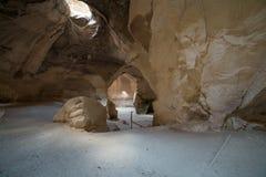 Przy zakładu Guvrin-Maresha parkiem narodowym, Izrael obrazy royalty free