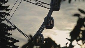 Przy Zmierzchem Ferris Koło zbiory