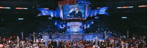 Przy Zszywki Centrum demokratyczna Konwencja, obrazy royalty free