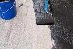 Przybierania betonowy screed Obraz Stock