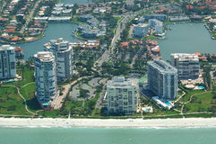 przybrzeżne Florydy eastate real Obrazy Royalty Free