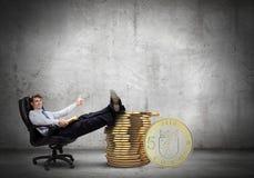 Przychodu pieniądze Obrazy Stock