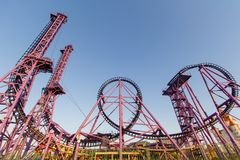 Przyciąganie w Sochi parku zdjęcia stock