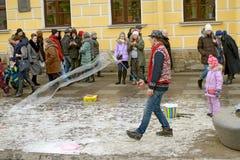 Przyciągania dla dzieci na ulicie Fotografia Stock