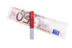 Przyciąganie euro Fotografia Royalty Free