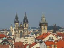 Przyciąganie w Praga Zdjęcia Royalty Free