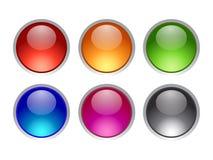 przyciski Obraz Stock