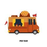Przyczepa fasta food wektorowa ilustracja odizolowywająca Fotografia Stock