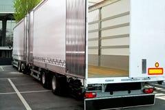 przyczepy ciężarówka obraz royalty free