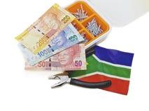 Przydatny mężczyzna, Południowa Afryka Fotografia Stock