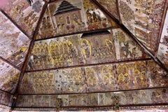` przydziału diabeł szczegółu ` ściany malowidło ścienne przy Kartą Gosha Bali Obrazy Royalty Free