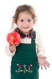 przygląda się małego dziewczyna cukierki Obrazy Stock