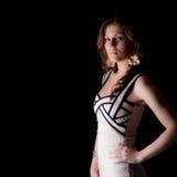 Przyglądający dobry - bardzo atractive młoda kobieta Fotografia Stock
