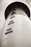 Przyglądający przy Łowiecką wyspy Południowa Karolina latarnią morską Up Zdjęcie Stock