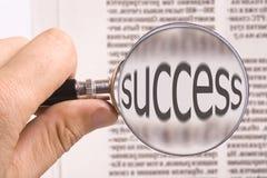 przyglądający sukces Zdjęcia Stock