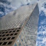 Przyglądający up - drapacz chmur w Denver Obrazy Royalty Free