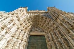 Przyglądający up w Seville, Hiszpania Zdjęcia Stock