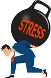 Mężczyzna pod stresem Zdjęcie Stock