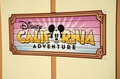 przygoda California Disney Zdjęcie Royalty Free