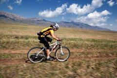 Przygoda roweru górskiego przez cały kraj maraton Obrazy Royalty Free
