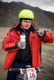 Przygoda roweru górskiego przez cały kraj rywalizacja Obraz Royalty Free