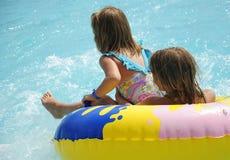 przygody dzieciaków woda dzika Obraz Stock
