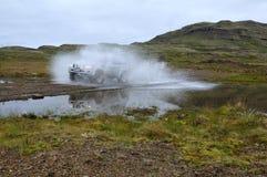 przygody Iceland dżip Zdjęcie Royalty Free