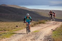 przygody roweru rywalizaci góra Fotografia Stock
