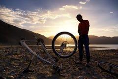 przygody roweru rywalizaci góra Obrazy Stock