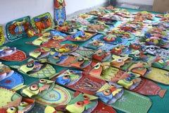 Przygotowania dla Pohela Boishakh Bengalskiego nowego roku w Dhaka Zdjęcia Stock