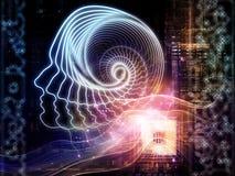 Pojawienie się Sztuczna inteligencja ilustracja wektor