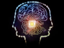 Pojawienie się Sztuczna inteligencja Zdjęcie Royalty Free