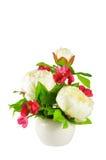 przygotowania kwiat sztuczny kolorowy Zdjęcia Royalty Free